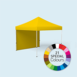 Pop up tent Eco with square steel poles