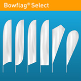 Bowflag® Select design shapes & print