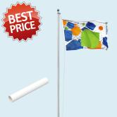 Budget Flagpole