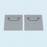 Wall Mount Metal, self-adhesive