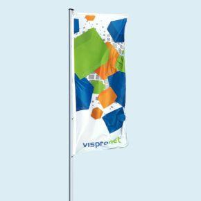 Independent banner arm (flag presenter)