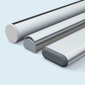 Aluminium profiles & suspension accessories