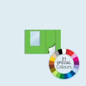 Ściany z drzwiami i oknami w kolorach spec.