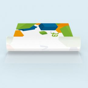 Self-adhesive fabric stickers