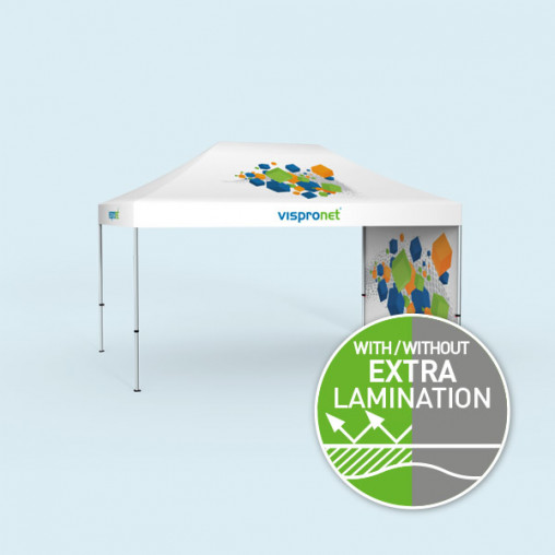 Pop Up Select 3 x 4.5 m, 1 wall with print