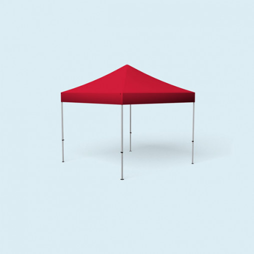 Pop Up Tent Basic, 3 x 3 m, red