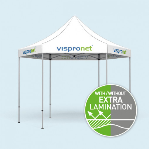 Gazebo Select Hexagon 4 m with printed valance only
