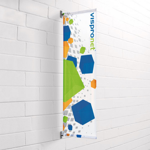 Street Banner Basic for wall mounting