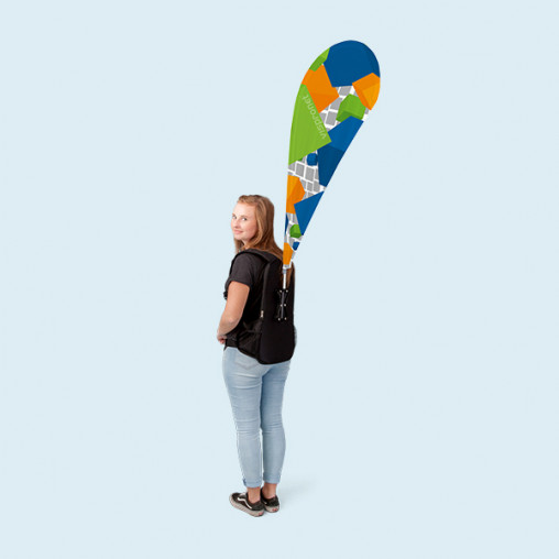 Promotion backpack Bowflag® drop