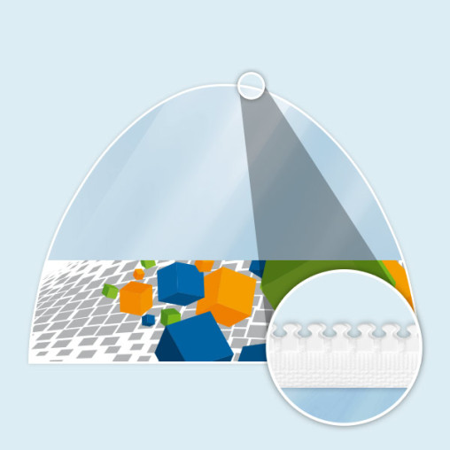 Wall with panorama window for Inflatable Tent Air