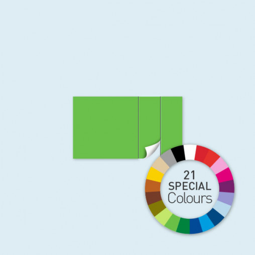 Wand mit 1 Tür rechts 400 x 220 cm Select, in 21 Sonderfarben erhältlich