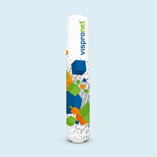 Inflatable Promotional Pillar Air ø 45 cm, 2 heights available (220 cm & 280 cm)