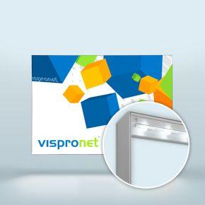 Light Box Q-Frame® LED in horizontal format
