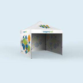 Example - Gazebo Basic 3 x 3 m with 3 walls & print