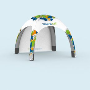 Inflatable Tent Air with 1 wall, printed