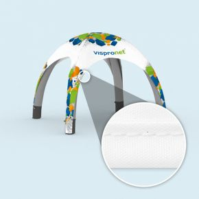 Inflatable tent Air with print (bound edges)