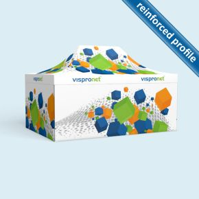 Pop up tent Select 4 x 6 m, 4 walls with print