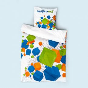 Photo bedding, printed front