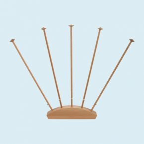 Table Flag Stand, 5 masts, height 42 cm