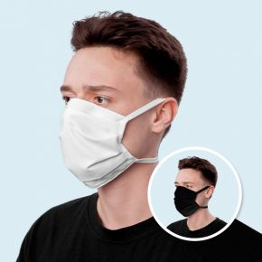Reusable Face Mask with ties/earloops/headloops/ ready for filter