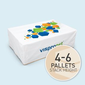 Pallet covers, up to 200 x 97 x 97 cm