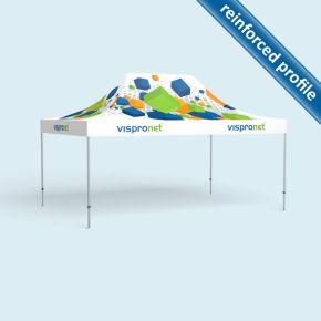 Gazebo Select 4 x 6 m, printed roof, no walls