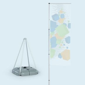 T-Pole® 200 with water-fillable base 70 l