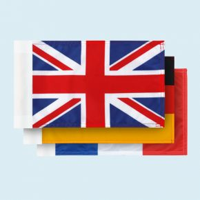 National flags - small with sleeve