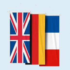 National banner flags