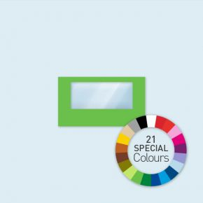 Wand m. 1 Panoramafenster 400 x 220 cm Select, in 21 Sonderfarben erhältlich