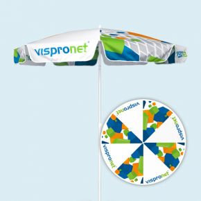 Promotional Parasol, 8-panel canopy