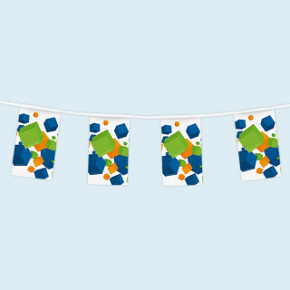 bunting with flags (same image)
