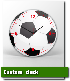 Print & buy your own custom clock online – get more information